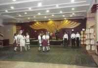 Csicseri néptánccsoport Tűzön-Vízen Át Egyesület Kecskefőző Fesztiválján