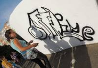 Széchenyivárosi napok, graffiti